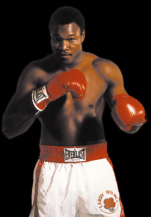 LARRY HOLMES - OFFICIAL HOMEPAGE